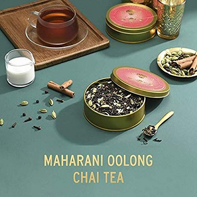 vahdam chai tea christmas gift for mom set