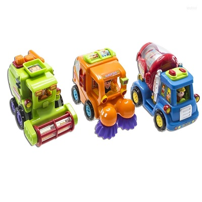wolvol push and go friction toy cars design