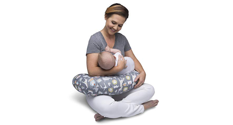 The Boppy Nursing Pillow was specially designed to provide a comfortable feeding experience for mom & baby.