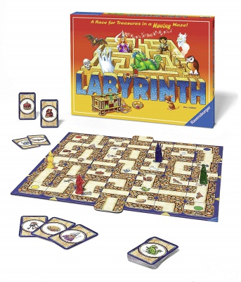 labrynith board game for teens set