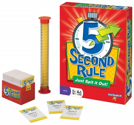 5 second rule board game for teens set