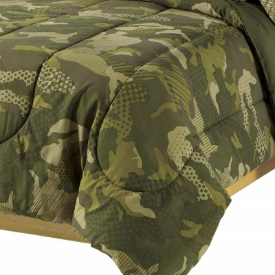 dream factory geo camo army kids bedding corner