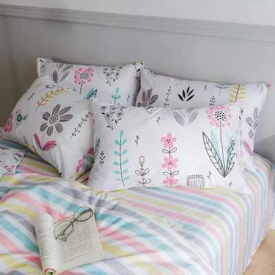 highbuy floral printed kids bedding pillows