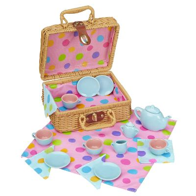 ALEX Toys Tea Set Basket for kids
