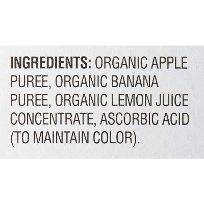 mama bear organic baby food ingredients
