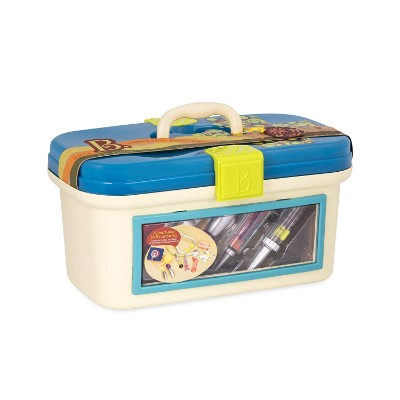 b. toys deluxe 10 pieces kids doctors kit box