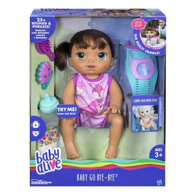Baby Alive Baby Go Bye Bye for girls