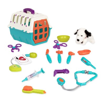 dalmatian vet kids doctors kit pieces