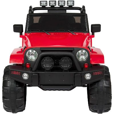 ride on truck w/ remote control 12V electric cars for kids front view