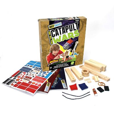 Boy Craft Catapult Wars set