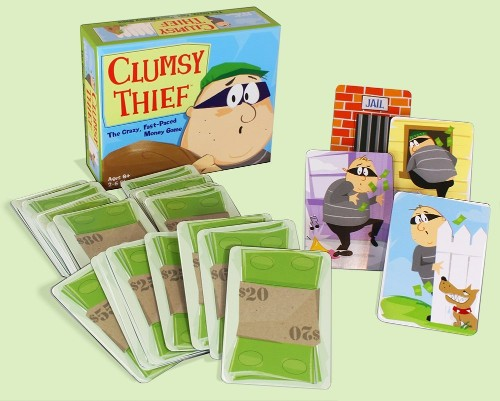 clumsy theif game