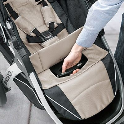 chicco bravo travel system easy to use