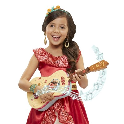 elena of avalor disney storytime kids guitar kid playing