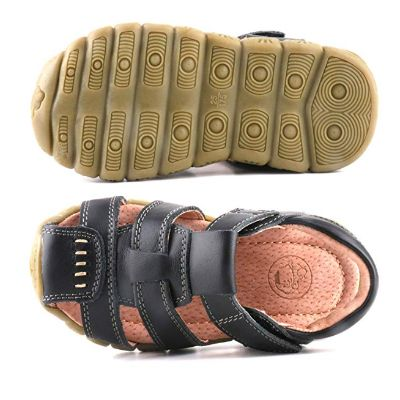 Lonsoen Leather Outdoor Sport Flat