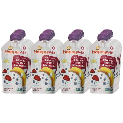 happy baby organic baby food pouches