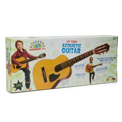 hohner HAG250P 1/2 sized classical kids guitar box