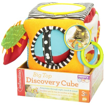 big top discovery development activity cube box