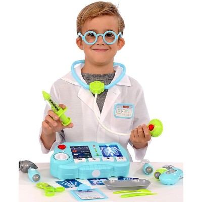 kPretend with light up x-ray machine kids doctors kit play
