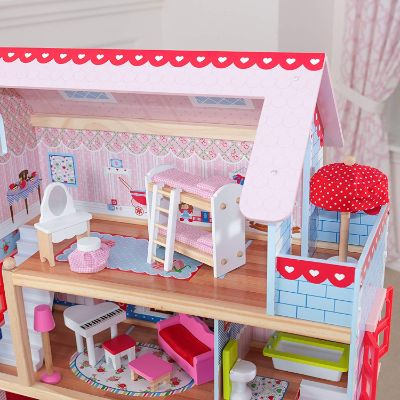 KidKraft Doll Cottage With Furniture for girls