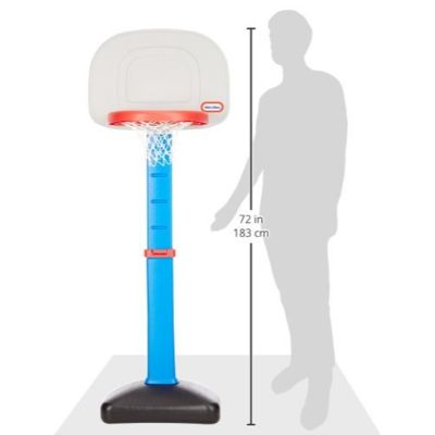 easy score basketball set little tikes toy measurements