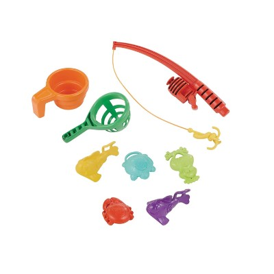 little tikes fish 'n splash water & sand table for kids and toddlers accessories