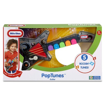 little tikes popTunes kids guitar box