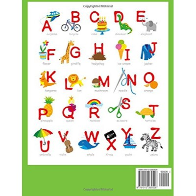 lots and lots of letter tracing practice educational book alphabet