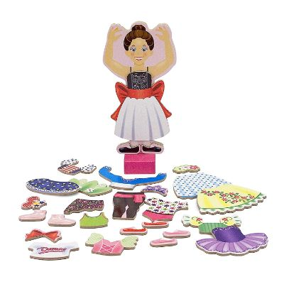 Melissa & Doug Nina Ballerina toy set
