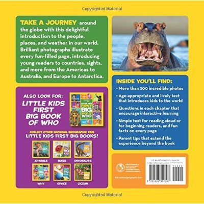 little kids first big book of the world educational book back