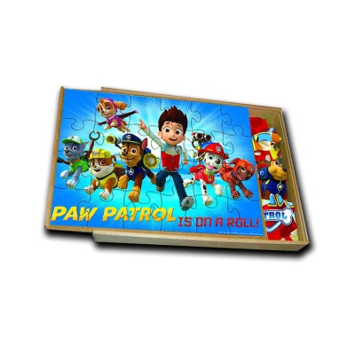 paw patrol jigsaw puzzle for kids storage