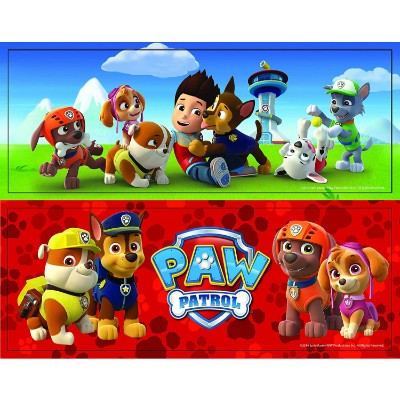paw patrol jigsaw puzzle for kids box