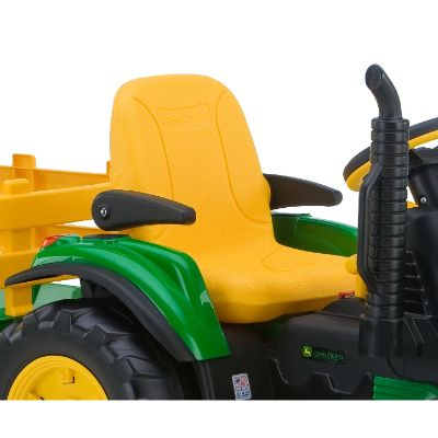 peg perego john deere force tractor electric cars for kids seat