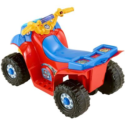 power wheels nickelodeon PAW patrol electric cars for kids side view