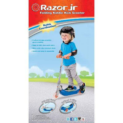 Razor Jr. Folding Kiddie Kick Scooter for children