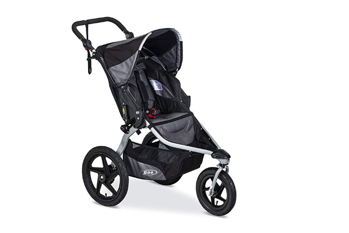 The BOB Revolution Flex 2.0 Jogging Stroller is adjustable.