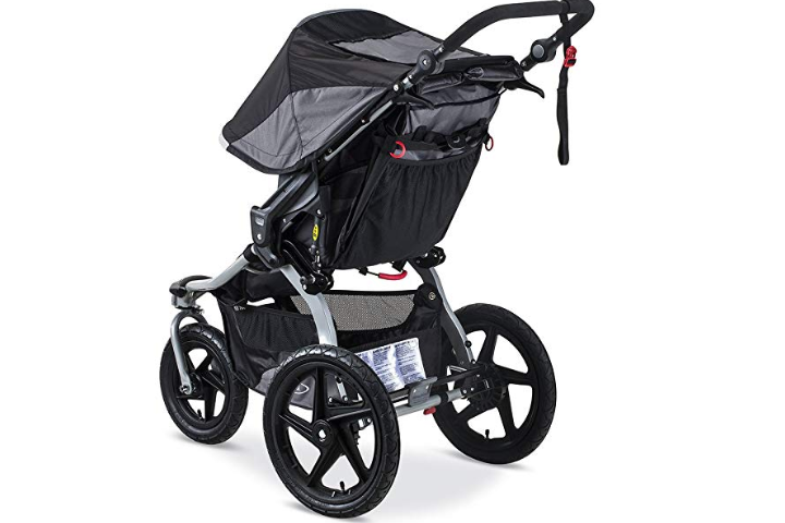 The BOB Revolution Flex 2.0 Jogging Stroller has  air-filled tires.