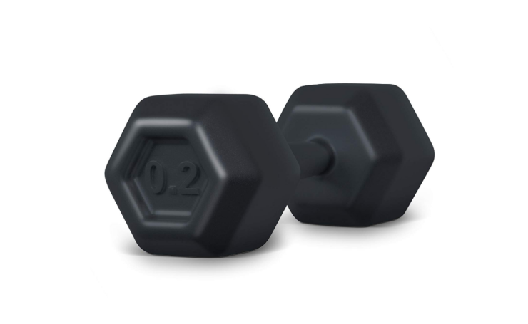The Fred BUFF BABY Dumbbell Baby Rattle is BPA-free.