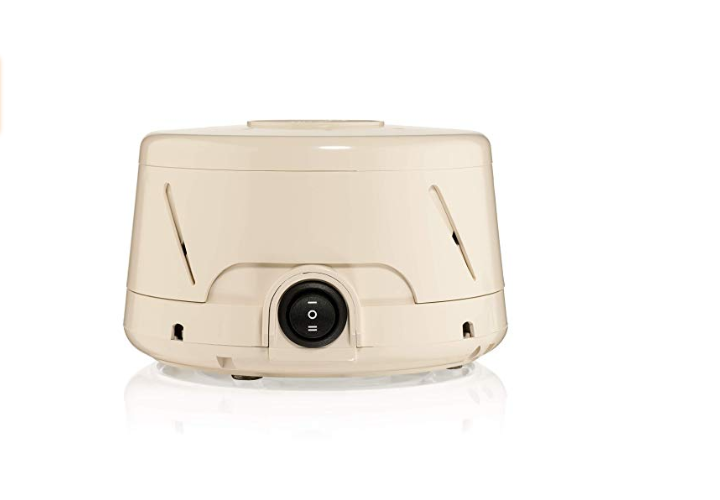 The Marpac Dohm Classic White Noise Machine has customized sounds.