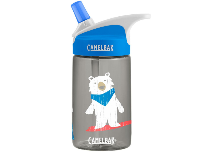 The CamelBak Eddy Kids Water Bottle is a great transition from sippy cups.