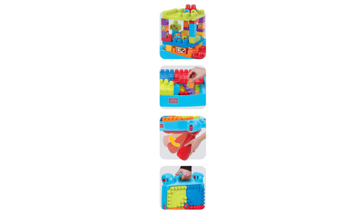 The Mega Bloks Build and Learn Table is perfect for little hands.