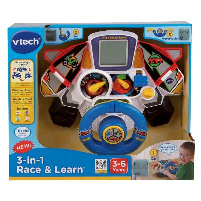 VTech 3-in-1 Race and Learn for 4 year old boy gift ideas