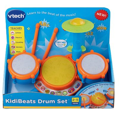 VTech KidiBeats Drum kit birthday gift 3 year old boy
