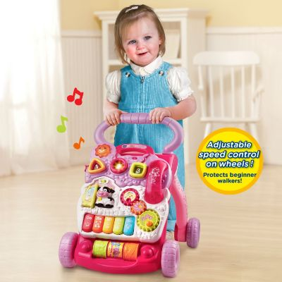 Sit-to-Stand Learning Walker best present for 1 year old baby girl