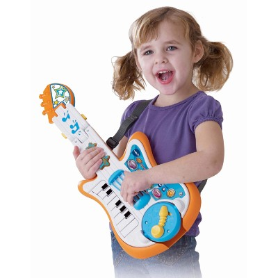 vTech strum and jam kids guitar girl playing