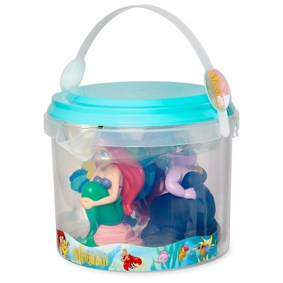 ariel bath toys that start with a can