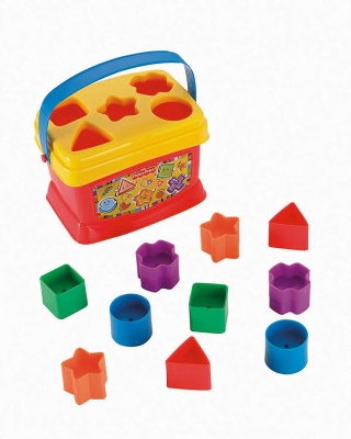 fisher price brilliant basics baby's first blocks pieces
