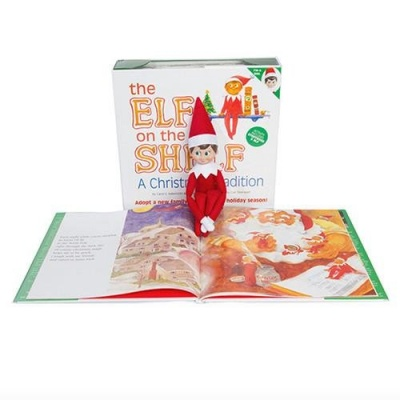 elf on the shelf toys that start with e book