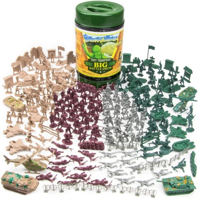 4. Imagination Generation 260-Piece Tiny Troopers