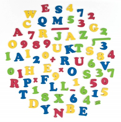 step2 toy easel for two magnetic letters & numbers