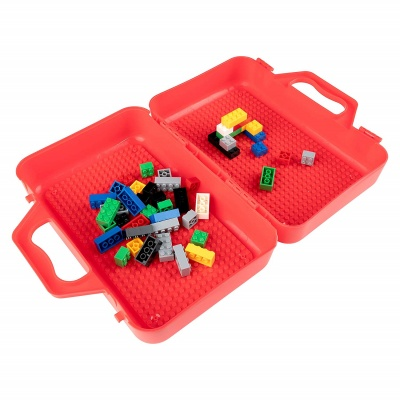 modfamily my brick case lego storage container open